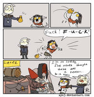 The Witcher 3, doodles 354 by Ayej