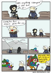 The Witcher 3, doodles 355