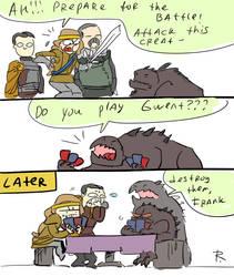 Thronebreaker, doodles 1