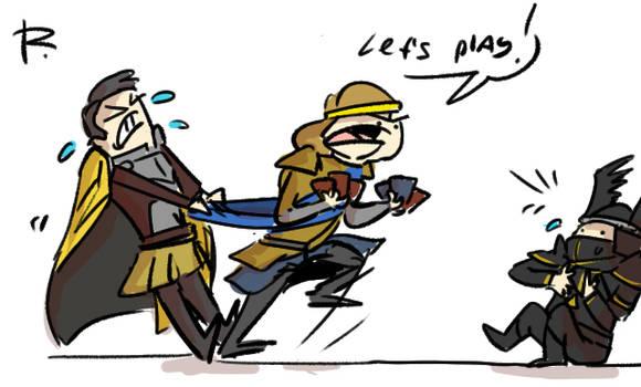 Thronebreaker, doodles 2