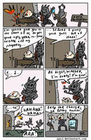 The Witcher 3, doodles 362 by Ayej