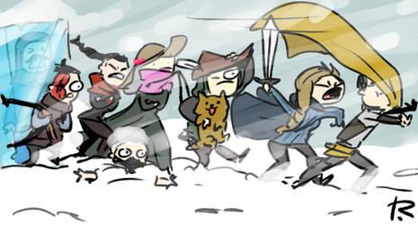 Thronebreaker, doodles 3