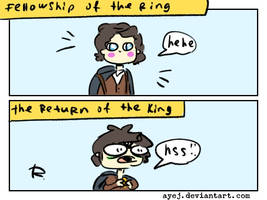 The Lord of the Rings, doodles 16 by Ayej