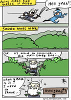 The Witcher 3, doodles 372 by Ayej