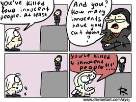 The Witcher 3, doodles 378 by Ayej