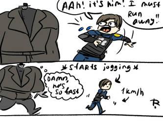 Resident Evil 2 remake, doodles 1 by Ayej