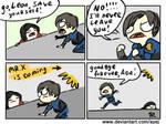 Resident Evil 2 remake, doodles 4