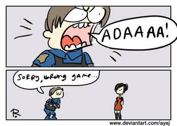 Resident Evil 2 remake, doodles 5 by Ayej