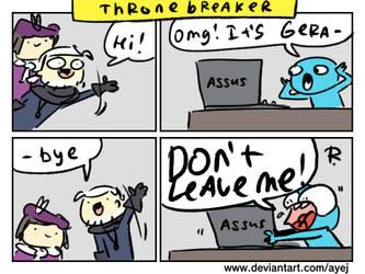 Thronebreaker, doodles 7 by Ayej