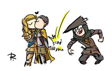 Thronebreaker, doodles 8