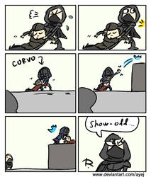 Thief 2014, doodles 23 by Ayej
