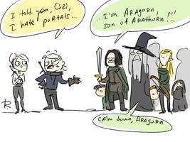 The Witcher 3, doodles 389 by Ayej