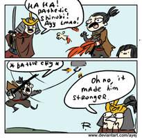 Sekiro: Shadows Die Twice, comics 1 by Ayej