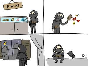 Thief 2014, doodles 32