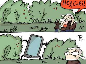 The Witcher 3, doodles 444 by Ayej