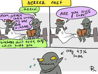 The Witcher 3, doodles 445 by Ayej
