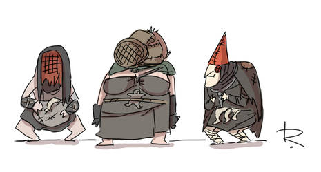The Witcher 3, doodles 446 by Ayej