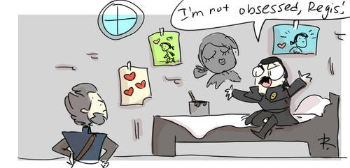 The Witcher 3, doodles 448 by Ayej