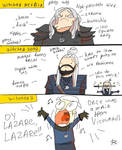 The Witcher 3, doodles 453 by Ayej