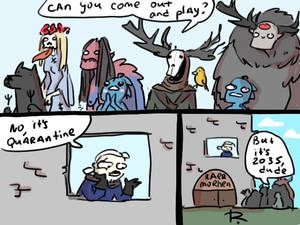 The Witcher 3, doodles 455