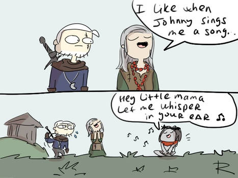 The Witcher 3, doodles 461