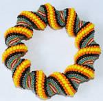 Multi Color Spiral Bracelet