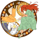 Rivey and Iriel stained glass window