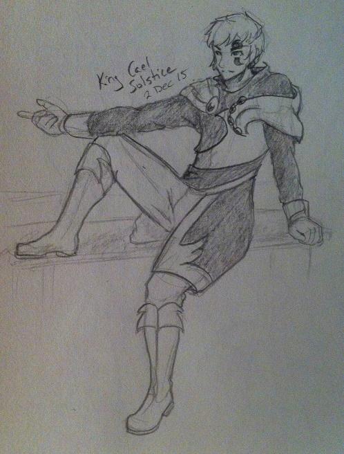 King Cael Solstice