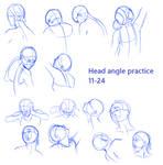 Head Angles Practice - 11-24