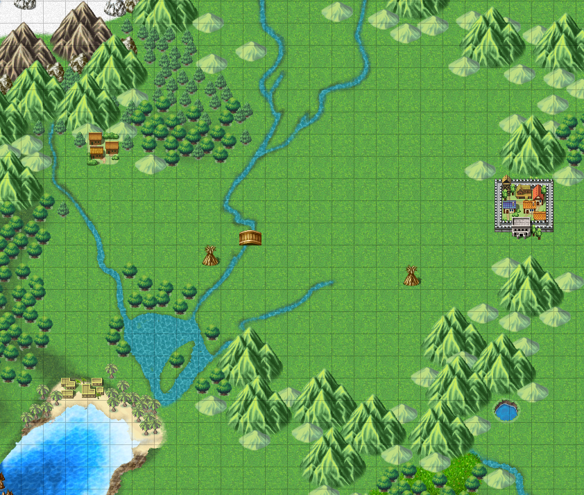 how to make a world map in rpg maker mv