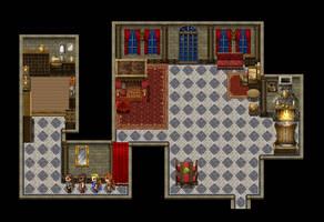 Screenshot: Palace room