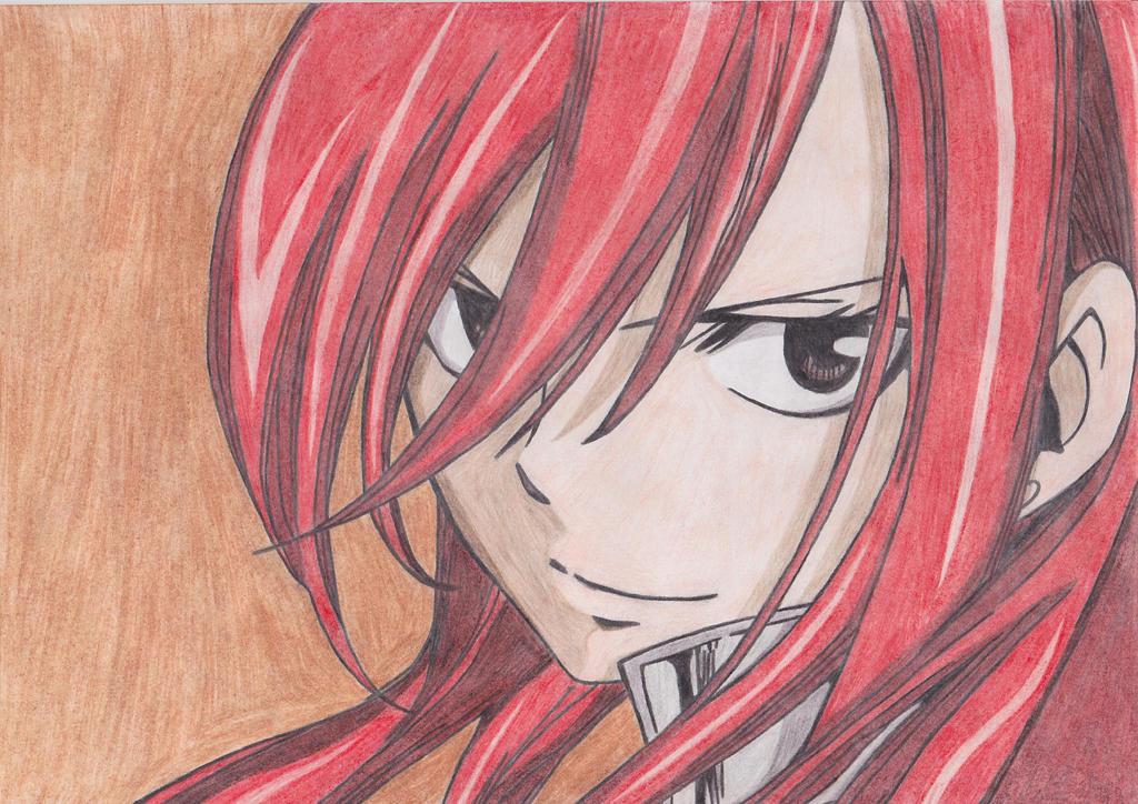 ~She is Erza~ by CrystalMelody-FT