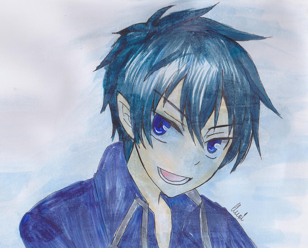 Rin Okumura by CrystalMelody-FT