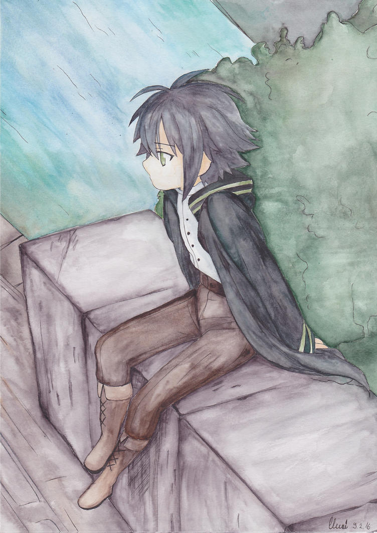Yuichiro Hyakuya by CrystalMelody-FT