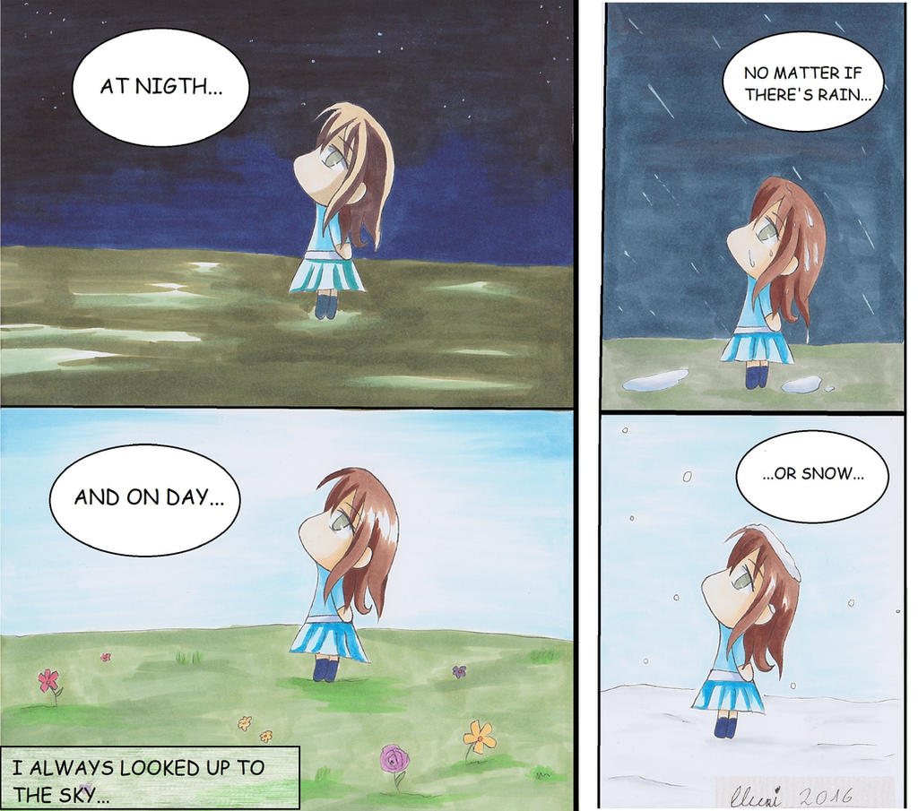 Chibi Short Manga by CrystalMelody-FT