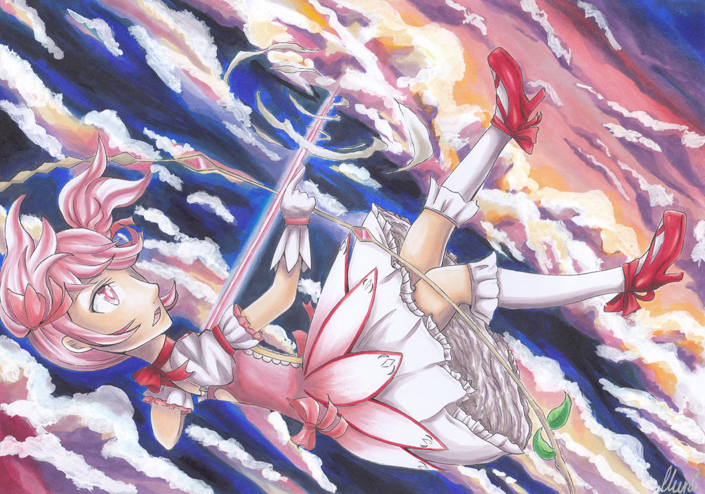 Madoka ~ light in the sky by CrystalMelody-FT