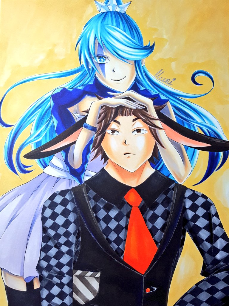 Kuri and Uma by CrystalMelody-FT