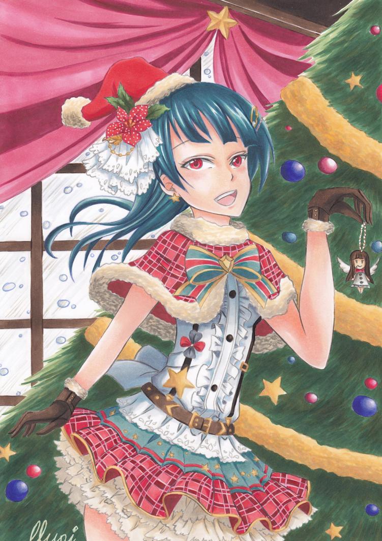 Christmas Yohane ~ Arttrade with DevilishMirajane by CrystalMelody-FT