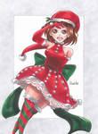 Ochako Uraraka ~ Christmas version