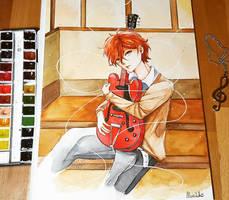 Mafuyu Sato - Watercolor