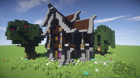 Minecraft - Medieval House with multiple storys