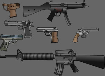 Cool guns by Live-Wire