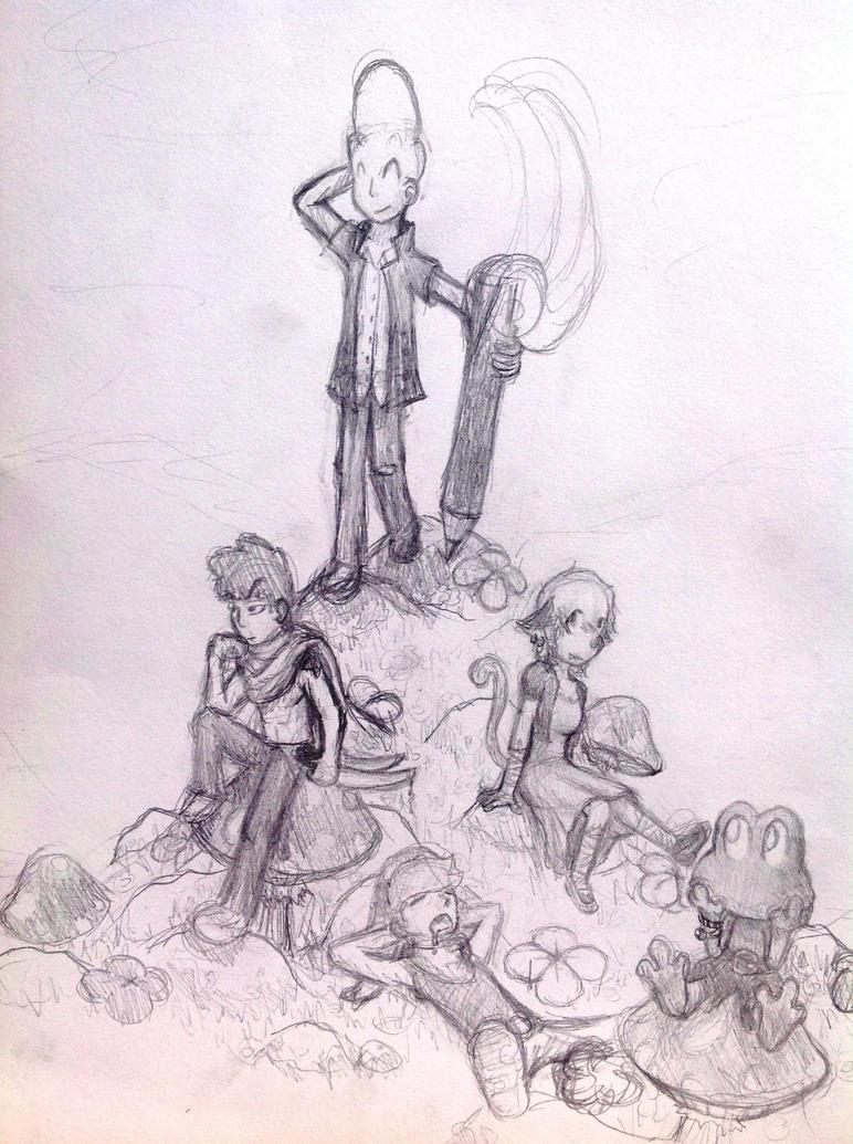 Dream World - un Monde Onirique (step 2) by theRatigan
