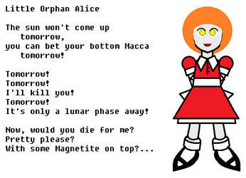 Little Orphan Alice by VonIthipathachai