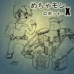 Mechamon - 002 - Robot X
