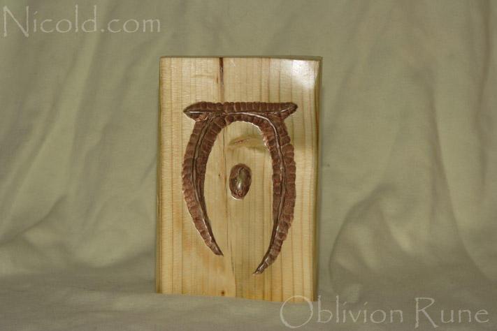Elder Scrolls V: Skyrim Oblivion Rune