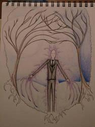 Slender Man Sketch Pad