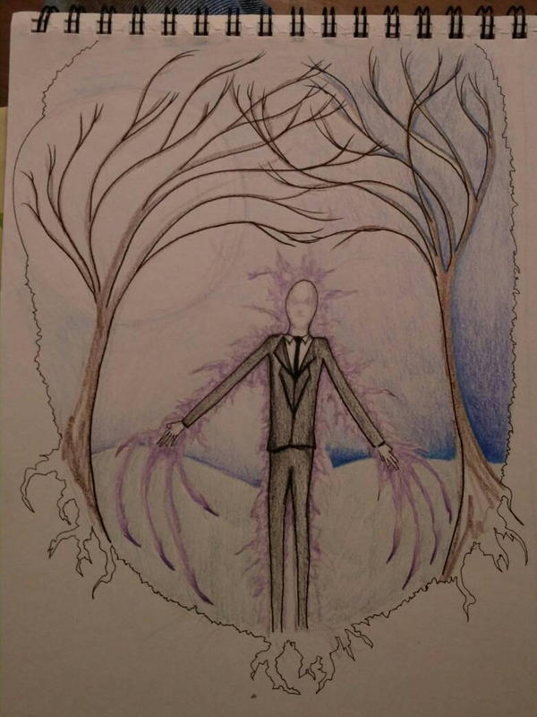 Slender Man Sketch Pad by Soto