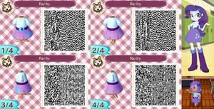 Animal Crossing: New Leaf QR Code - Rarity by MysteryMoonbeam