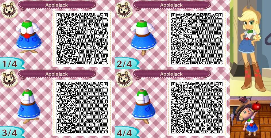 Animal Crossing New Leaf Qr Code Applejack By Mysterymoonbeam